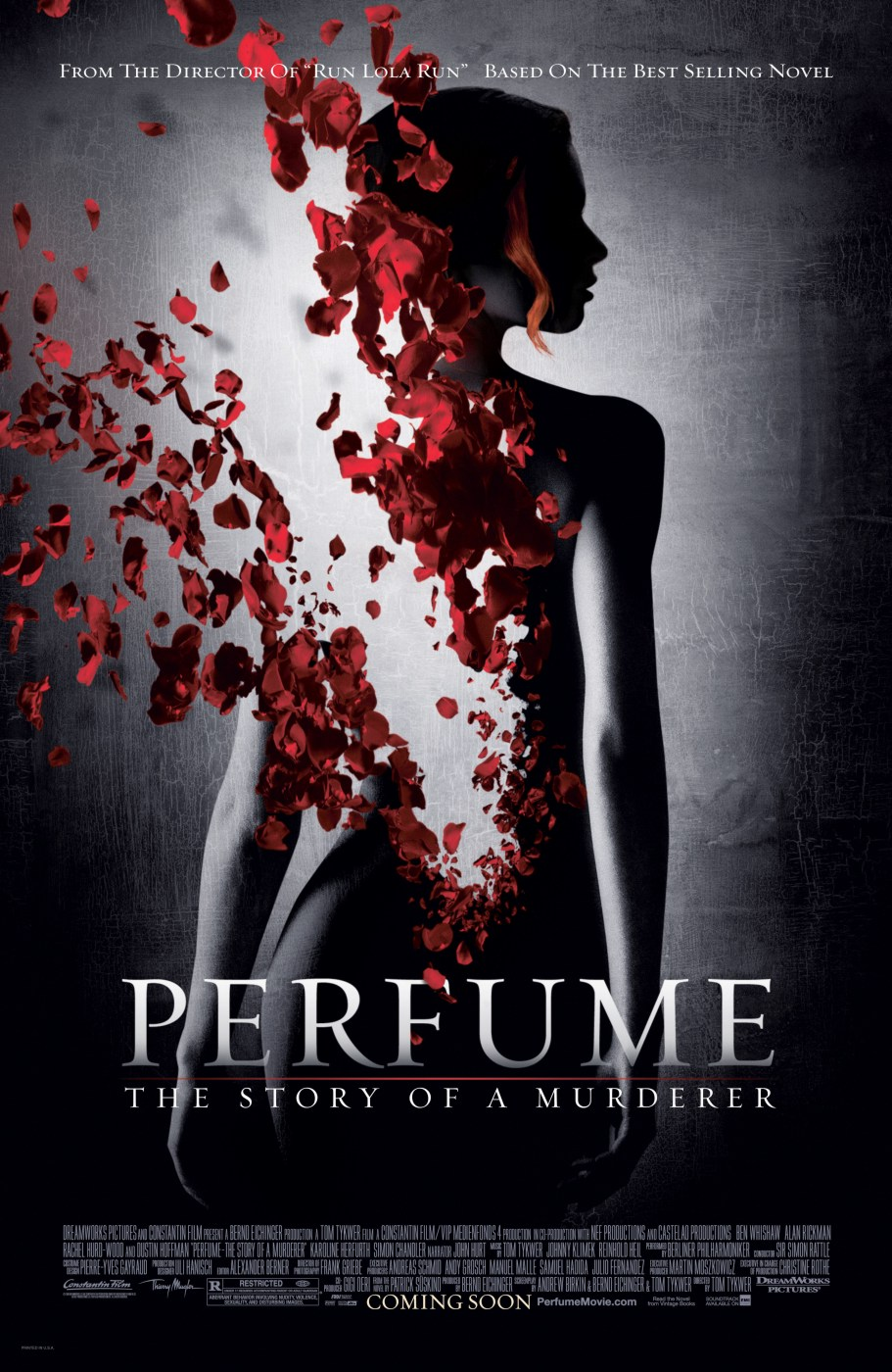 "poster for ""Perfume, The Story of a Murderer"" by Tom Tykwer(2006)"