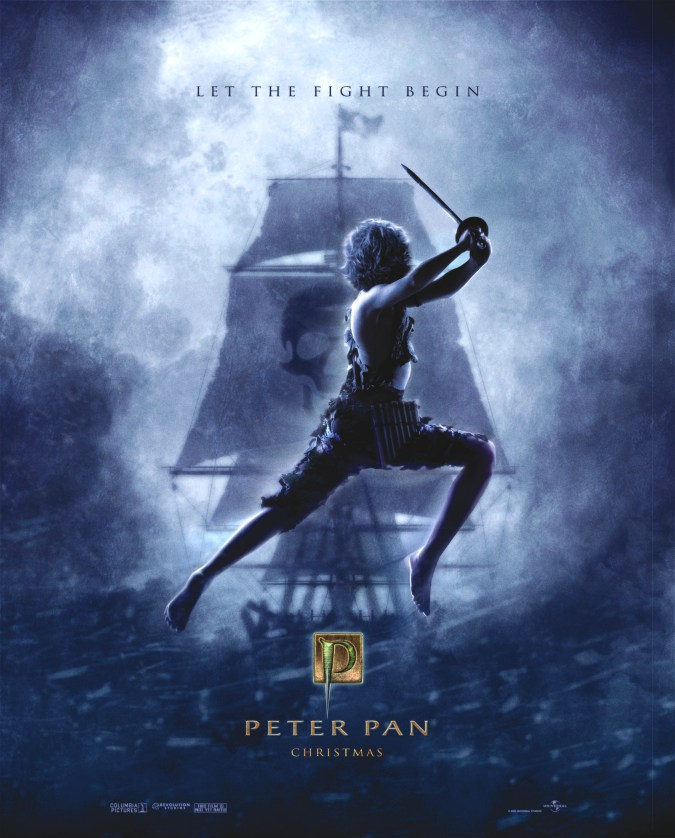 "poster for ""Peter Pan"" by P.J. Hogan(2003)"