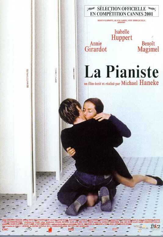 "poster for ""Pianiste, La"" by Michael Haneke(2001)"