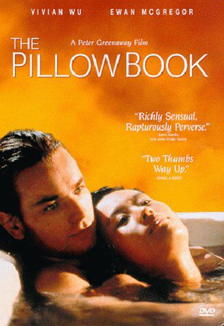 "poster for ""Pillow Book, The&quot"