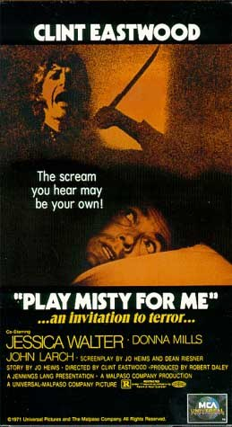 "poster for ""Play Misty for Me&quot"