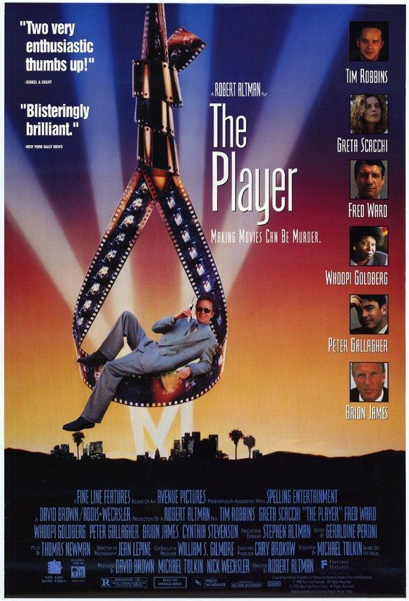 "poster for ""Player, The"" by Robert Altman(1992)"
