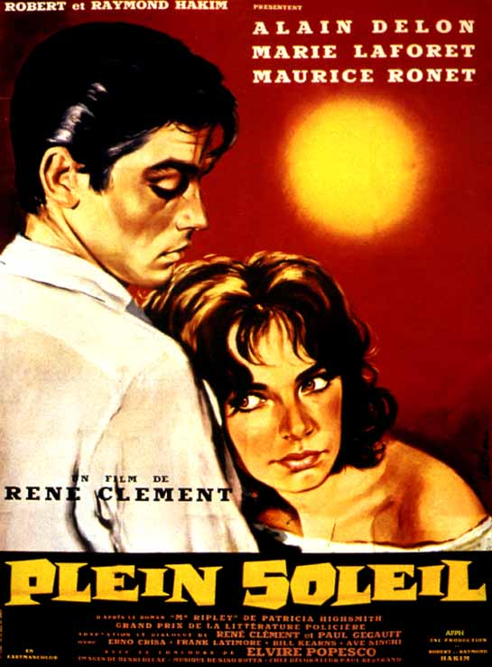 "poster for ""Plein soleil"" by Ren� Cl�ment(1960)"