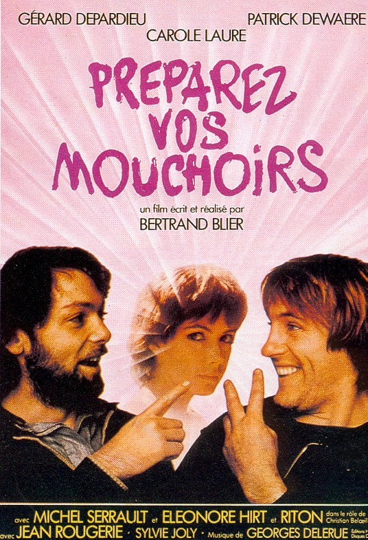 "poster for ""Pr�parez vos mouchoirs"" by Bertrand Blier(1978)"