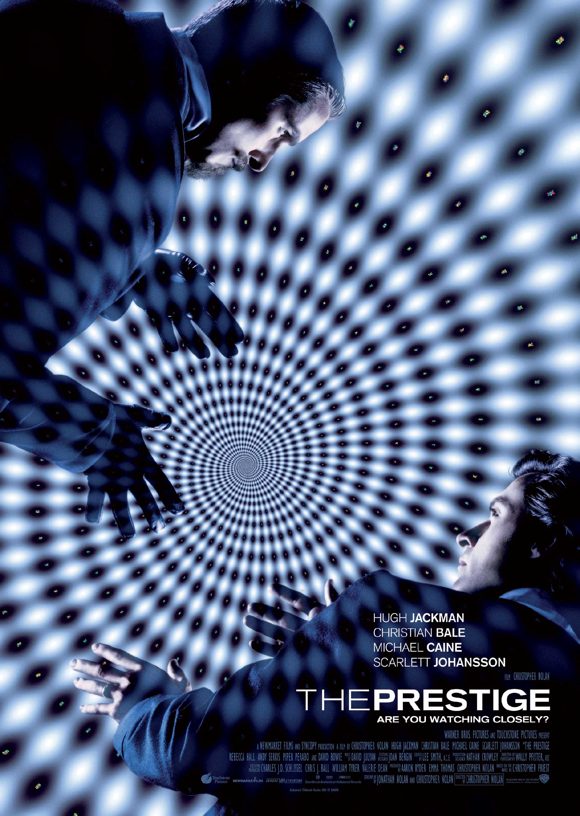 "poster for ""The Prestige"" by Christopher Nolan(2006)"