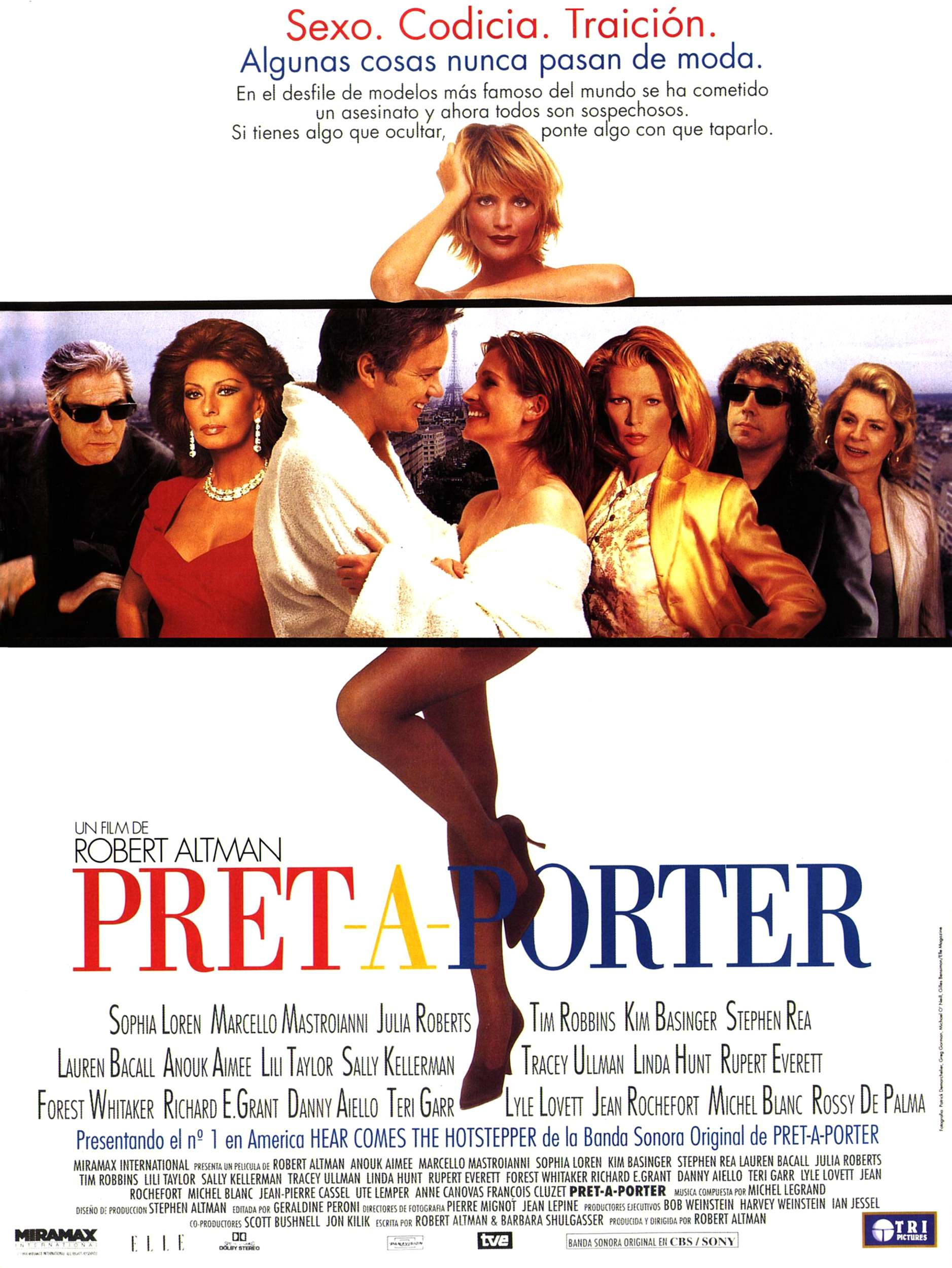 Movie posters for movieid 752 prt for Pret a porter