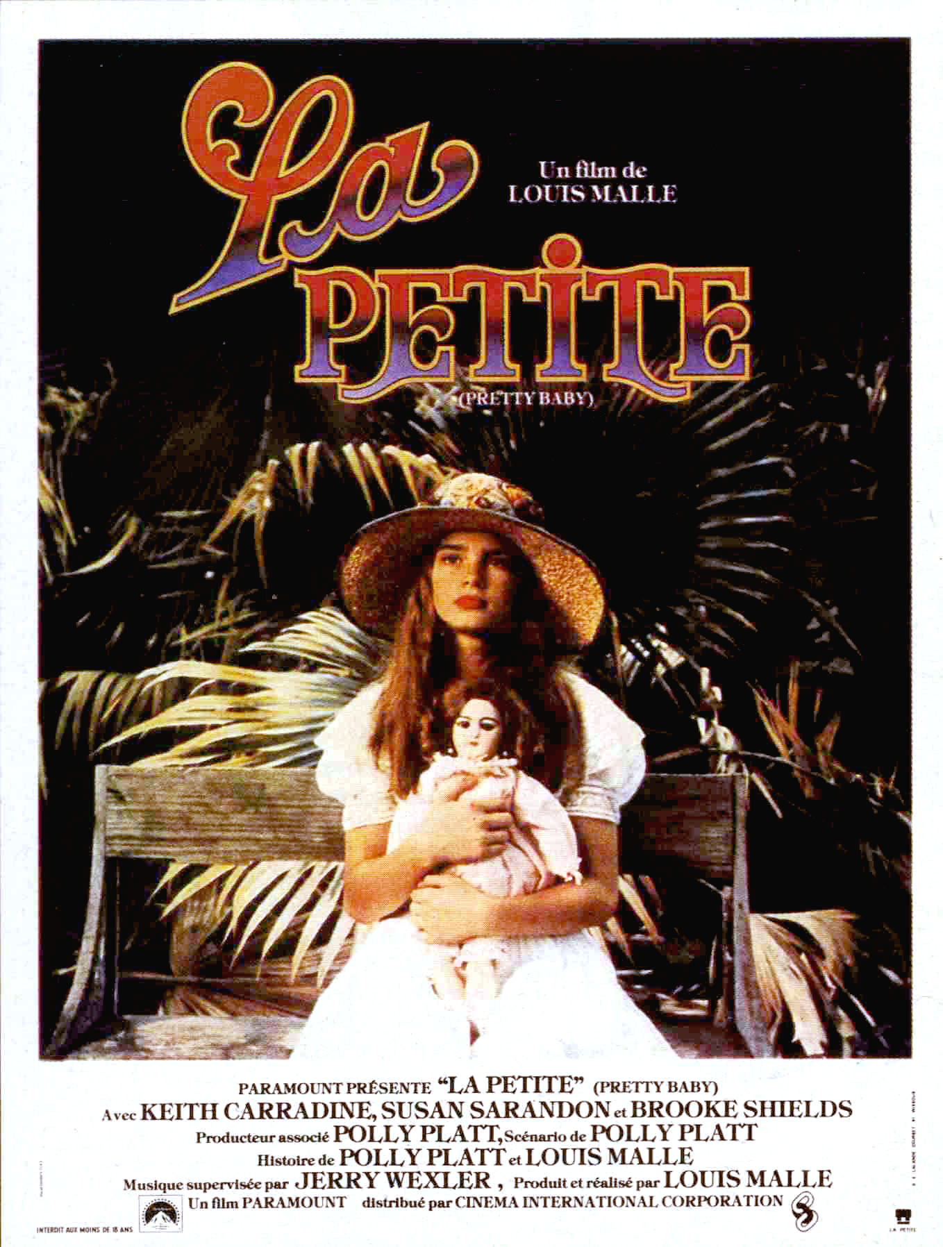 "poster for ""Pretty Baby&quot"