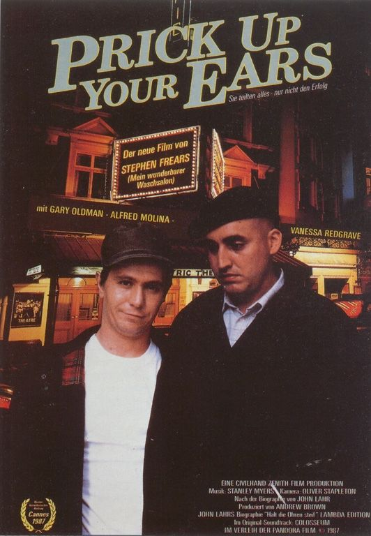 "poster for ""Prick Up Your Ears&quot"