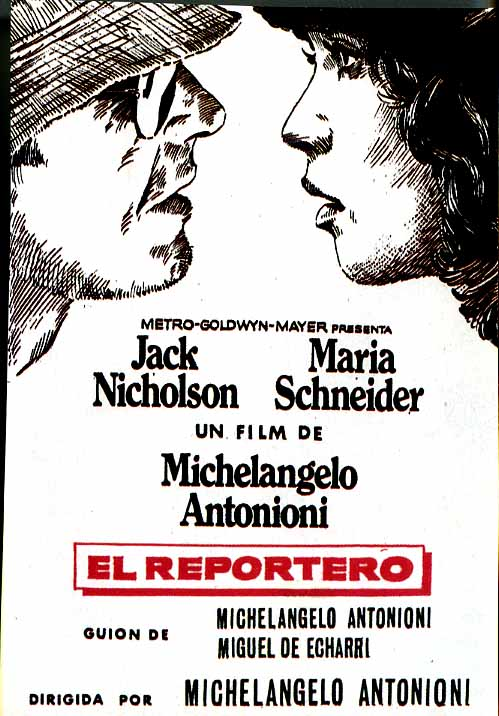 "poster for ""Professione Reporter&quot"