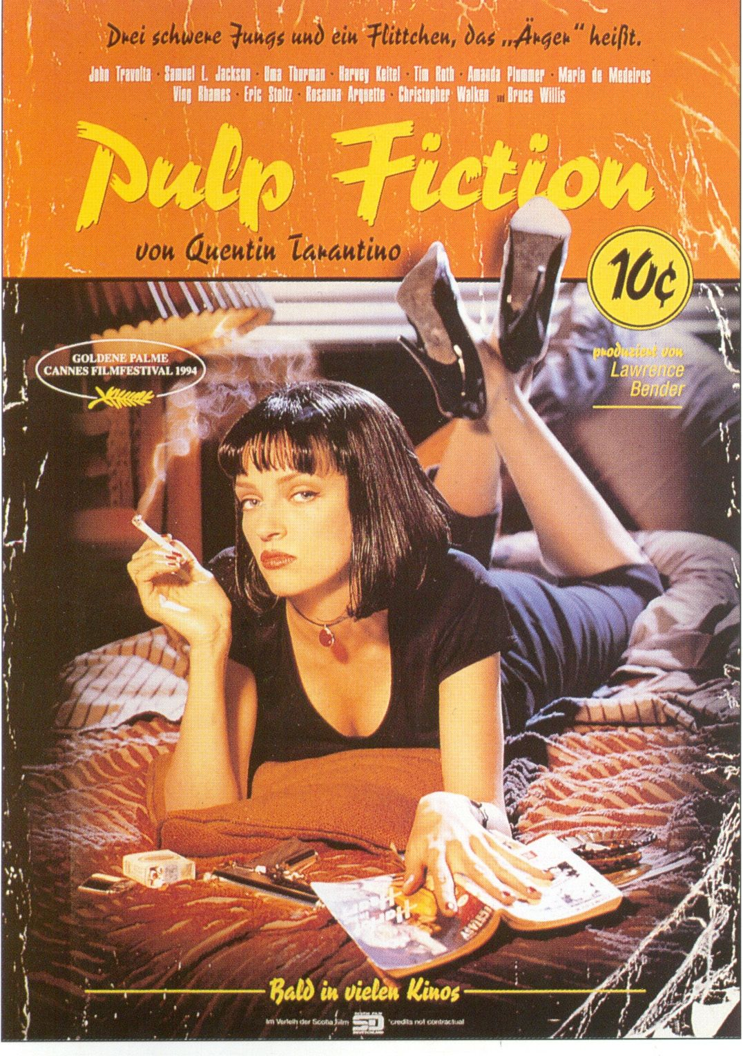 "poster for ""Pulp Fiction"""