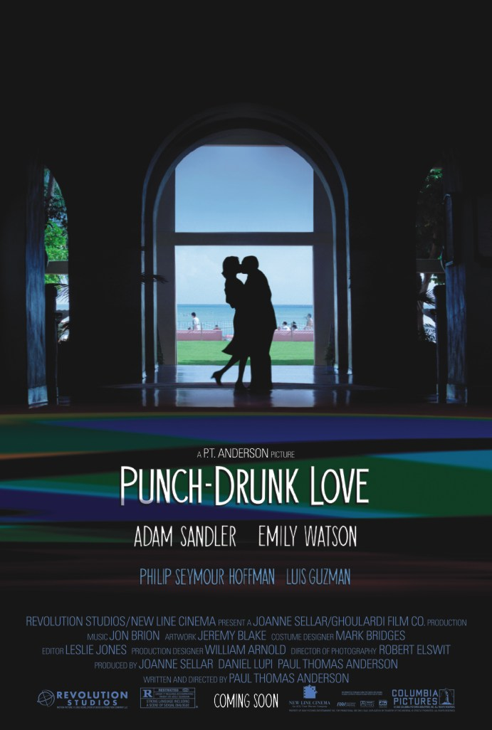 "poster for ""Punch-Drunk Love"" by Paul Thomas Anderson(2002)"