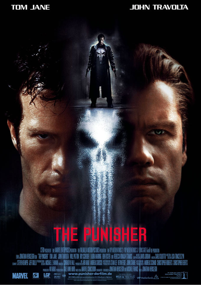"poster for ""Punisher, The"" by Jonathan Hensleigh (2004)"
