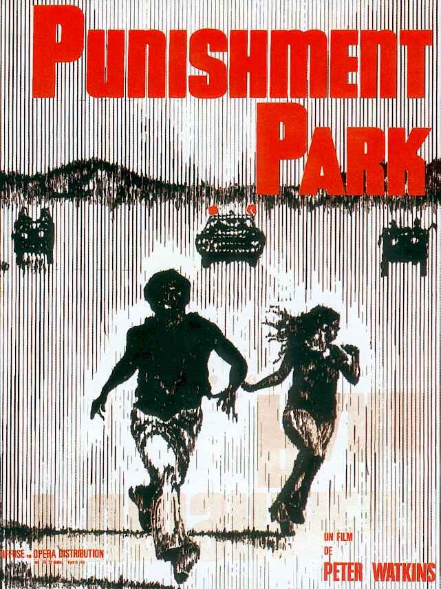 "poster for ""Punishment Park"" by Peter Watkins(1971)"