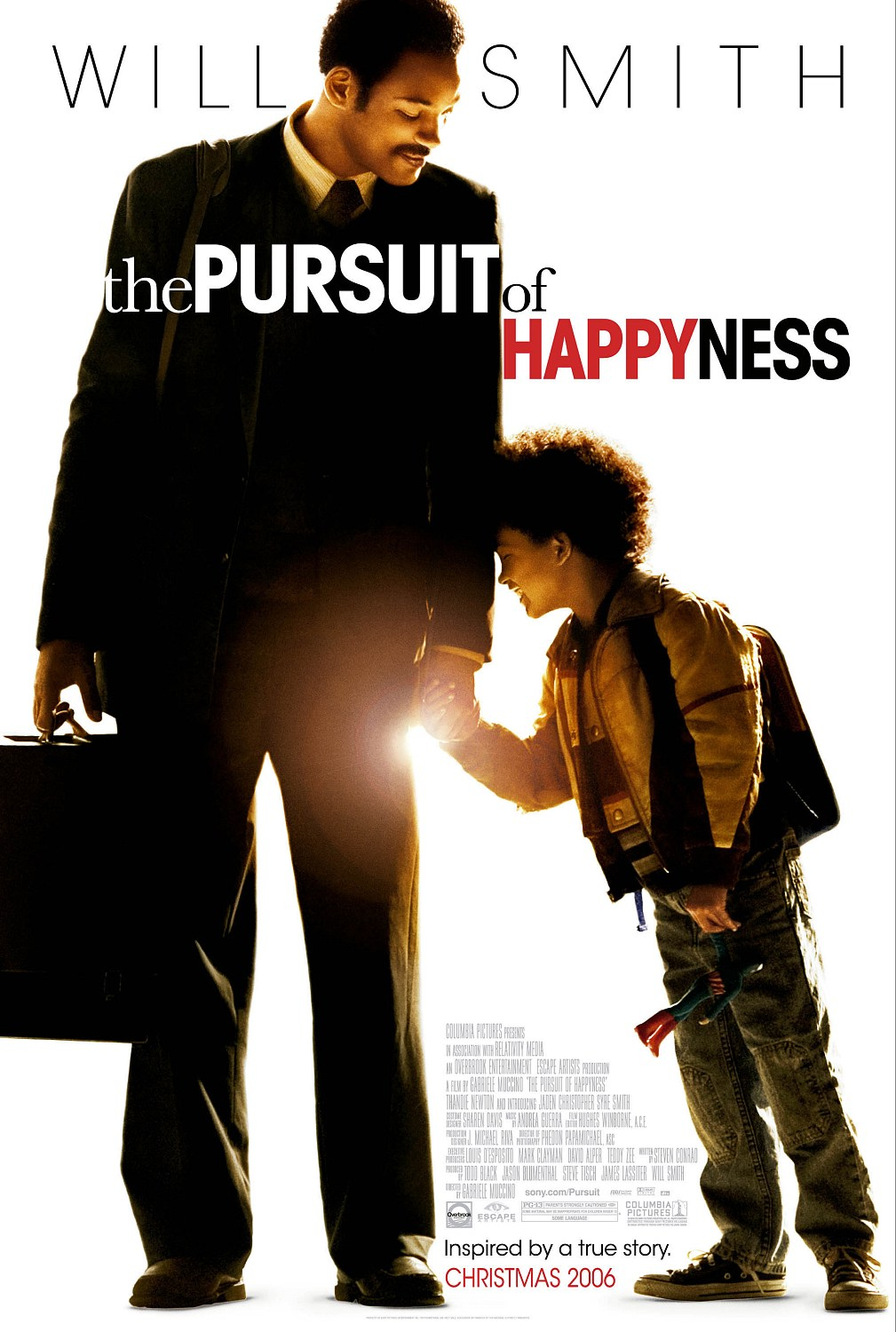 "poster for ""Pursuit of Happyness, The"" by Gabriele Muccino(2006)"
