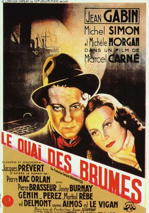 "poster for ""Quai des Brumes&quot"
