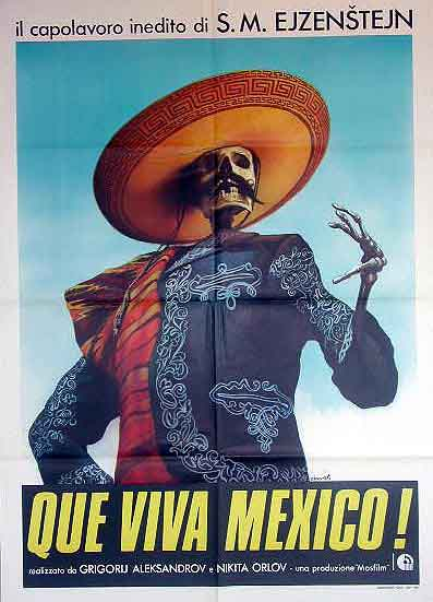 "poster for ""Que viva Mexico!&quot"