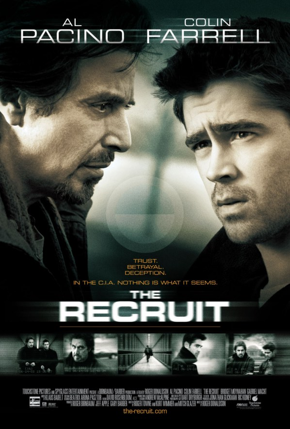 "poster for ""Recruit, The"" by Roger Donaldson (2003)"