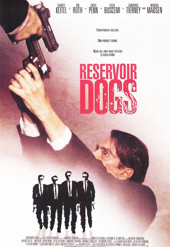 "poster for ""Reservoir Dogs&quot"
