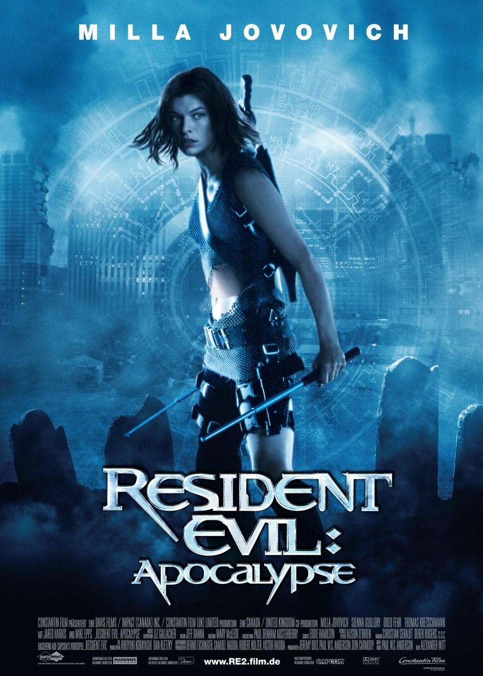 movie posters 2038   posters for movieid 980 resident evil apocalypse 2004 by alexander witt