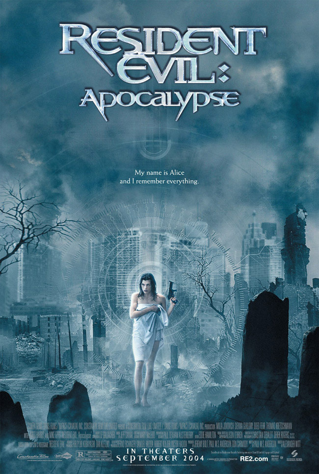 "poster for ""Resident Evil Apocalypse&quot"