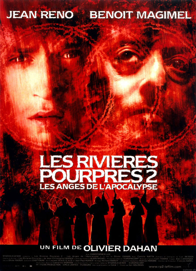 "poster for ""Rivi�res pourpres II - Anges de l'apocalypse, Les"" by Olivier Dahan(2004)"