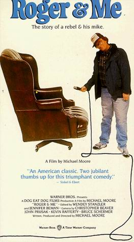 "poster for ""Roger & Me"" by Michael Moore (II)(1989)"