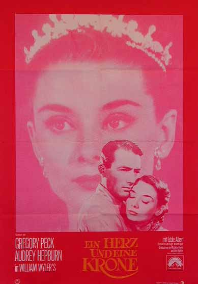"poster for ""Roman Holiday&quot"