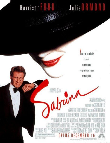 "poster for ""Sabrina"" by Sidney Pollack(1995)"