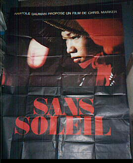 "poster for ""Sans Soleil"" by Chris Marker (1983)"