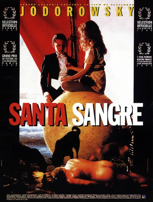 "poster for ""Santa Sangre&quot"