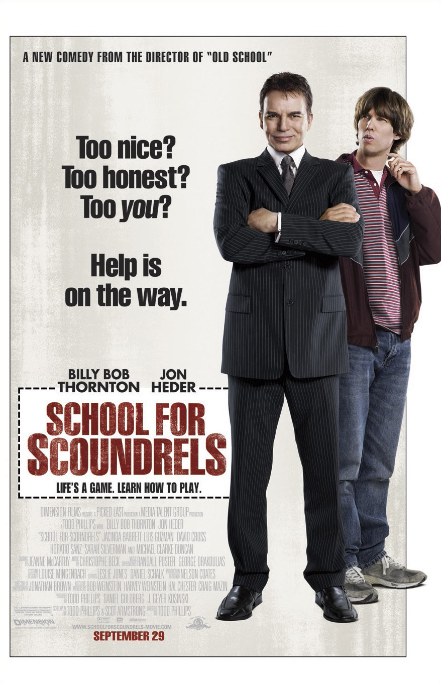 "poster for ""School for Scoundrels"" by Todd Phillips (2006)"