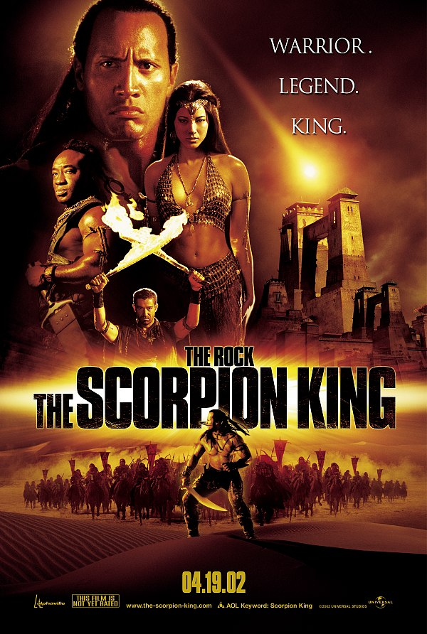 "poster for ""Scorpion King, The"" by Chuck Russell (2002)"