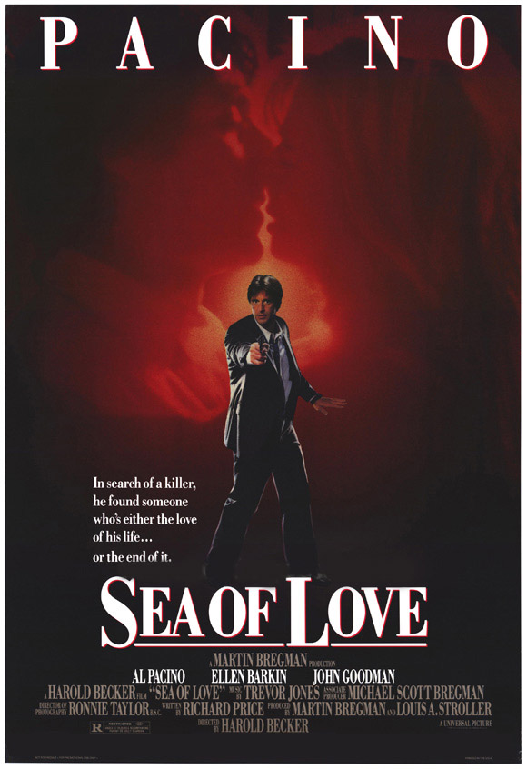 "poster for ""Sea of Love"" by Harold Becker(1989)"