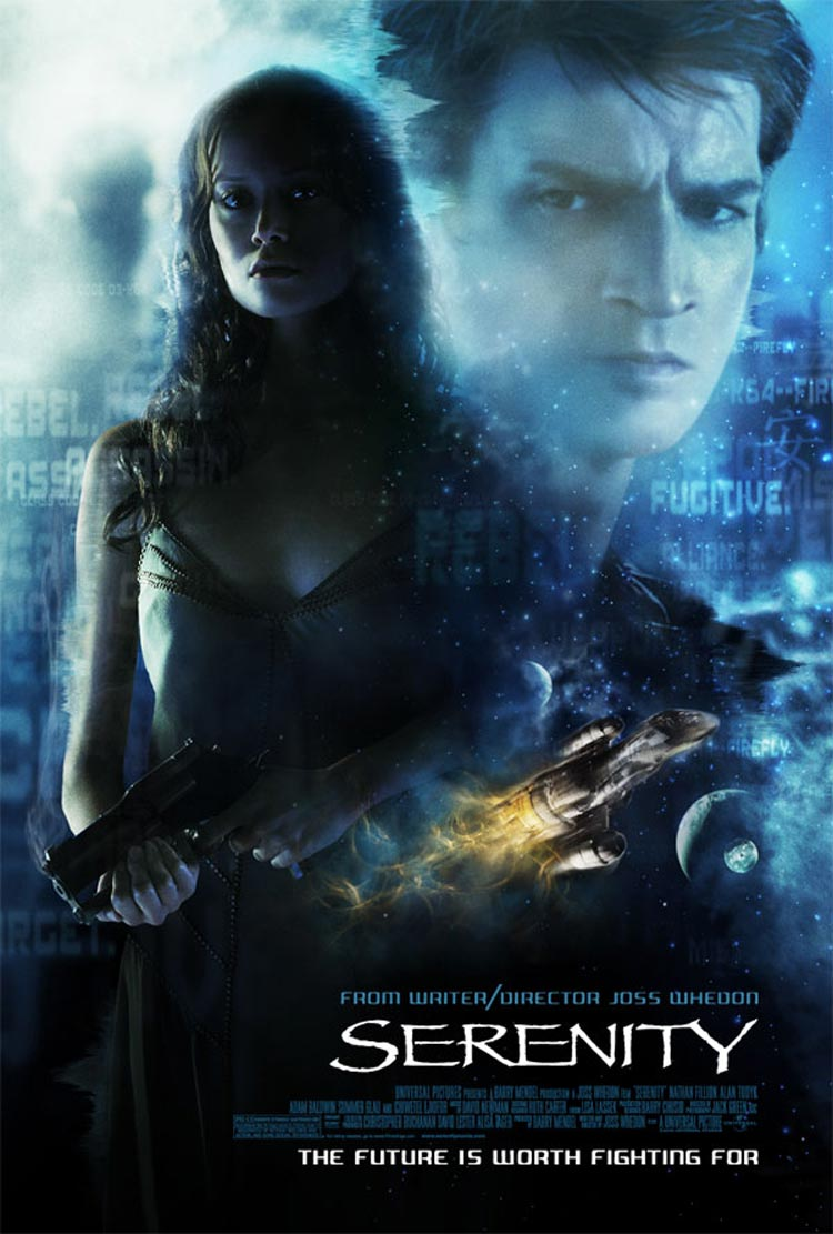 "poster for ""Serenity"" by Joss Whedon (2005)"