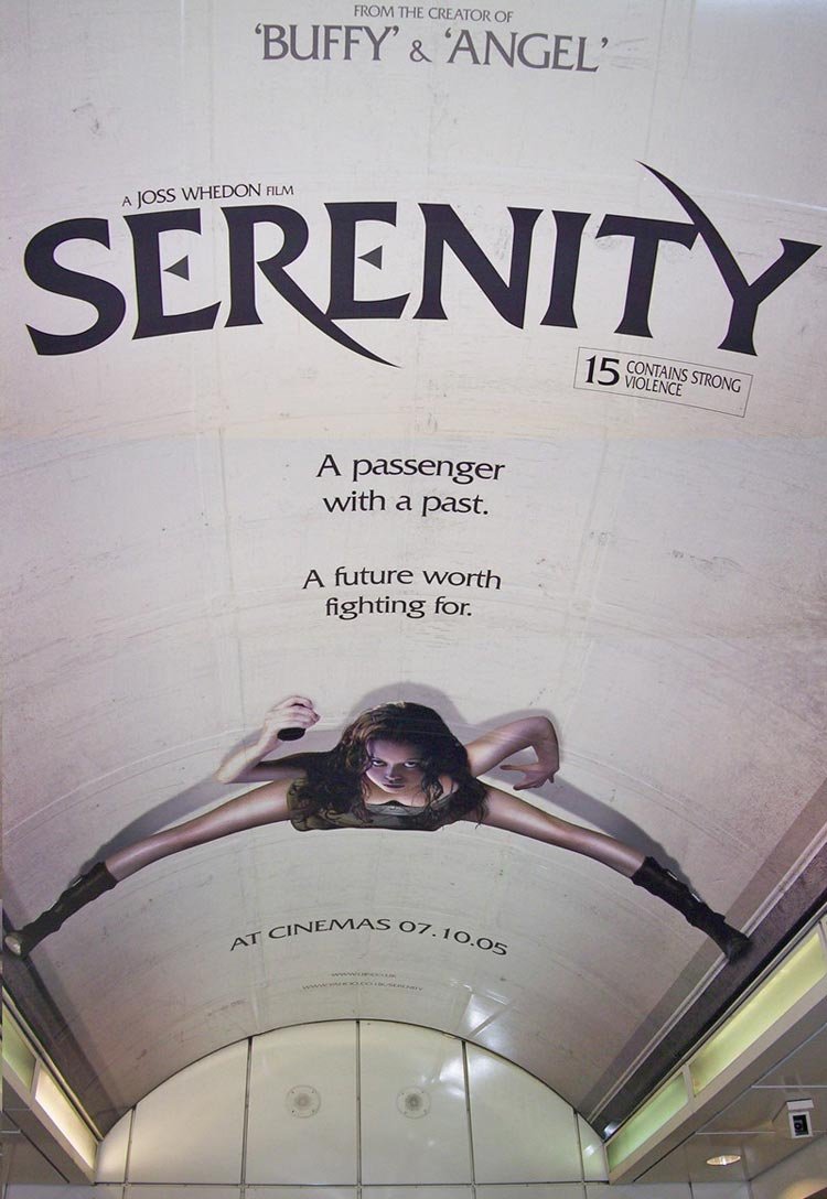 "poster for ""Serenity"""