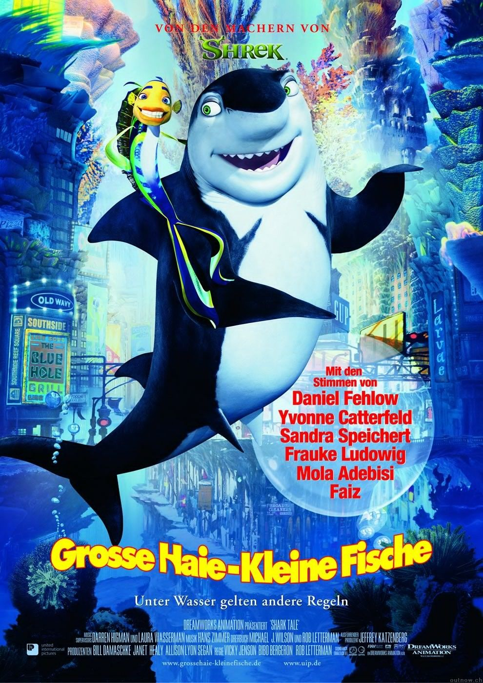 "poster for ""Shark Tale&quot"