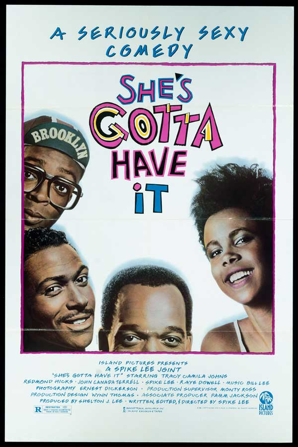 "poster for ""She's Gotta Have it"" by Spike Lee(1986)"