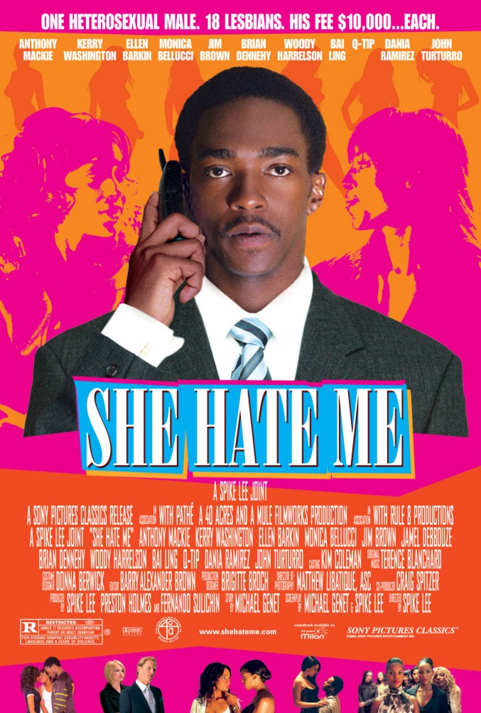 "poster for ""She Hate Me"" by Spike Lee(2004)"
