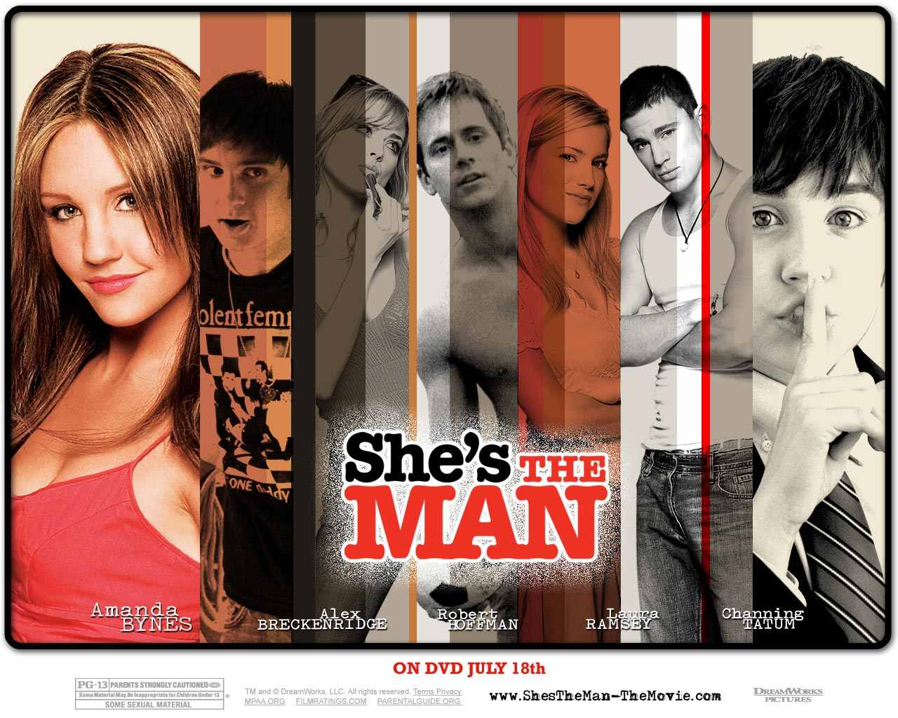 "poster for ""She's the Man&quot"