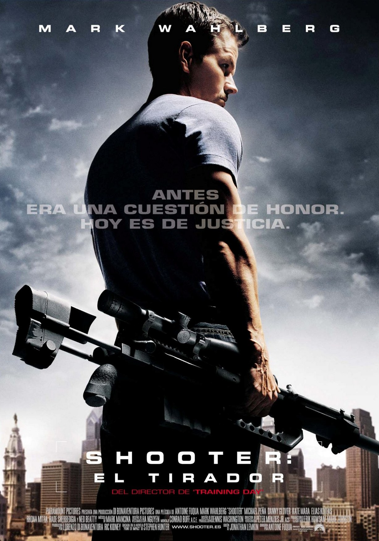 "poster for ""Shooter&quot"