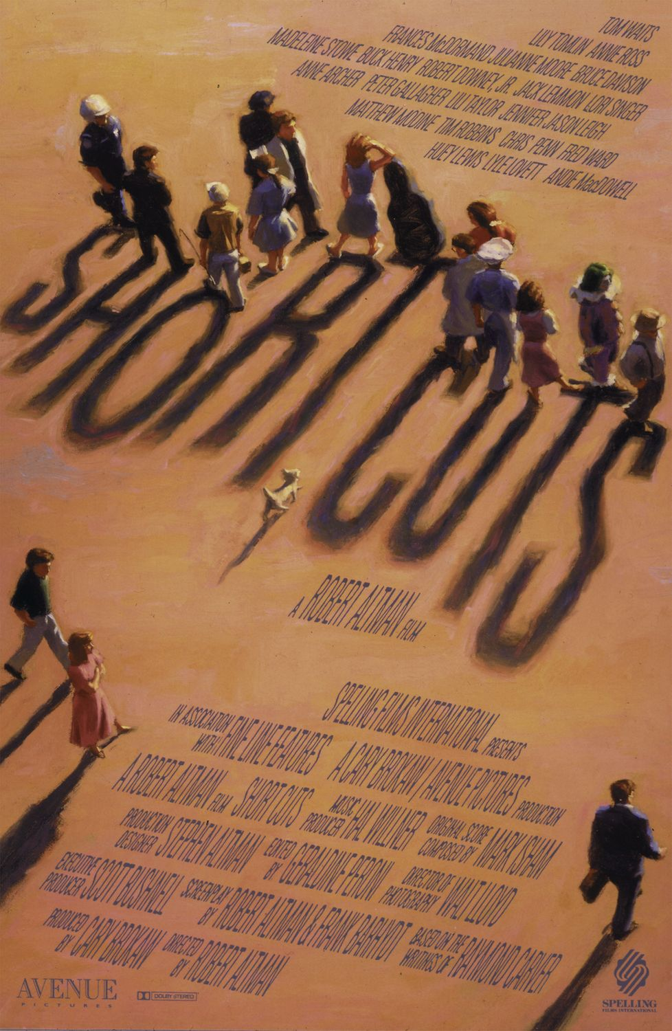 "poster for ""Short Cuts"" by Robert Altman(1993)"