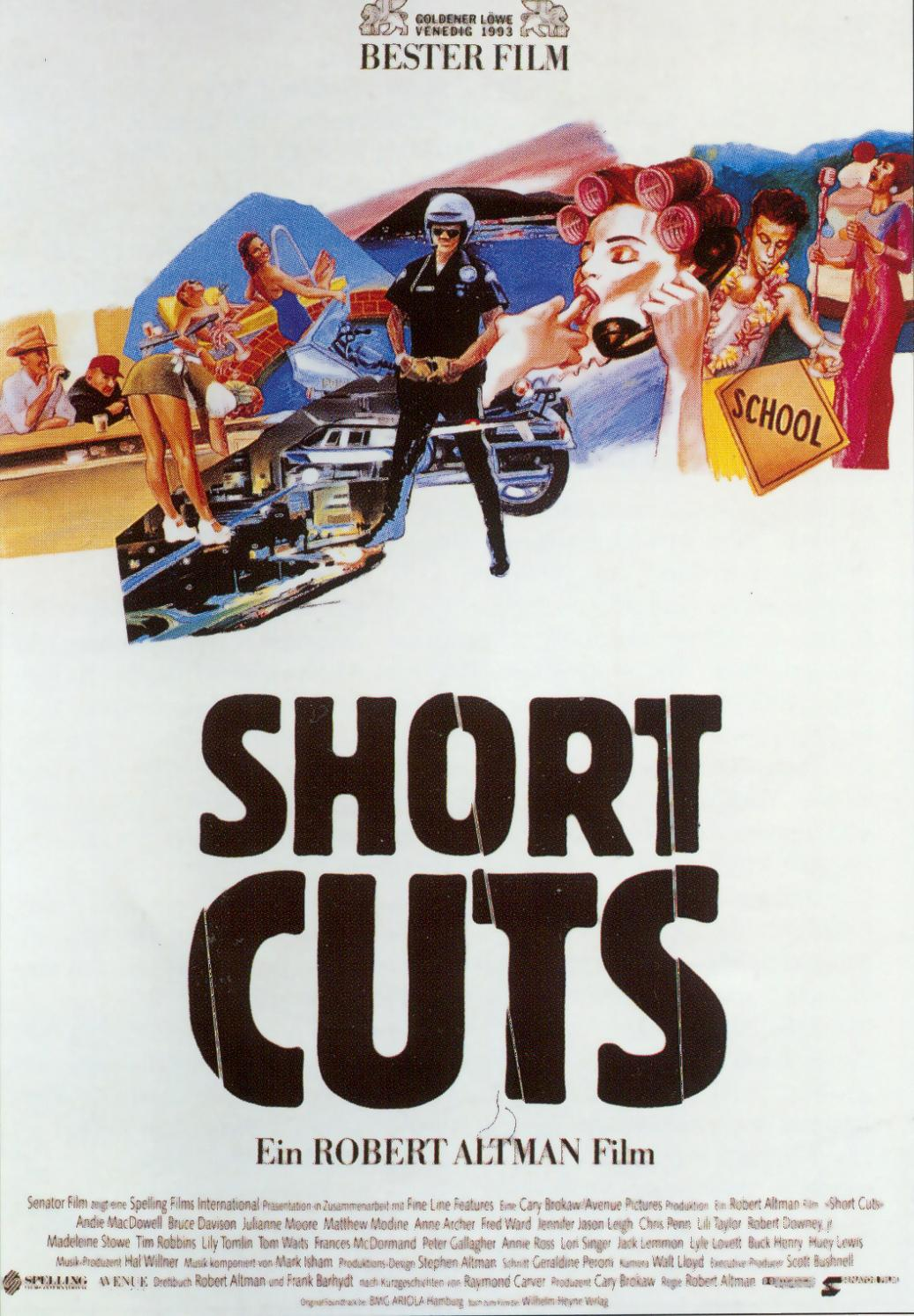 "poster for ""Short Cuts&quot"