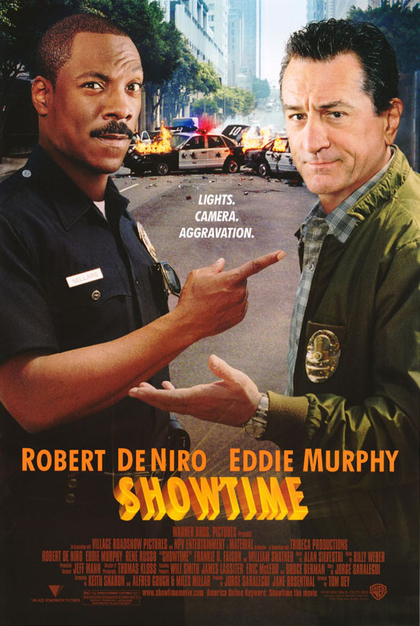 "poster for ""Showtime"" by Tom Dey (2002)"
