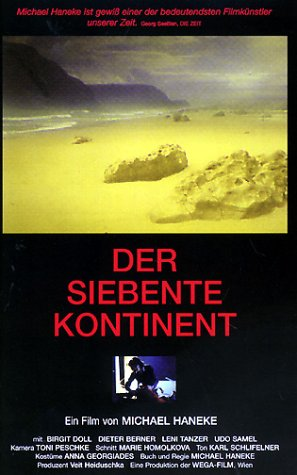 "poster for ""Siebente Kontinent, Der"" by Michael Haneke (1989)"