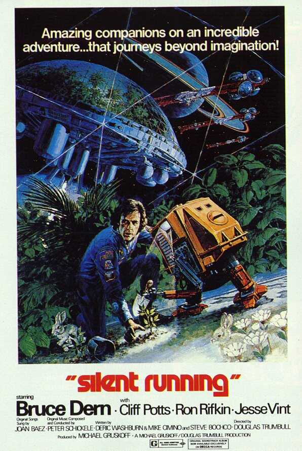 "poster for ""Silent Running"" by Douglas Trumbull(1972)"