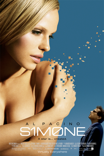 "poster for ""Simone"" by Andrew Niccol (2002)"