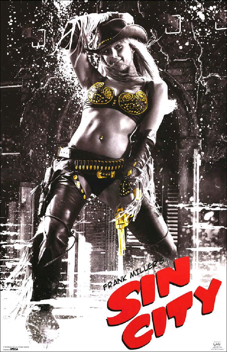 "poster for ""Sin City&quot"