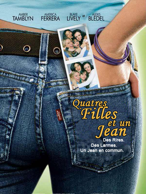 "poster for ""Sisterhood of the Traveling Pants, The"""