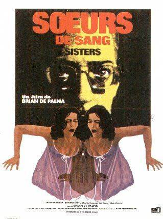 "poster for ""Sisters"" by Brian De Palma(1973)"