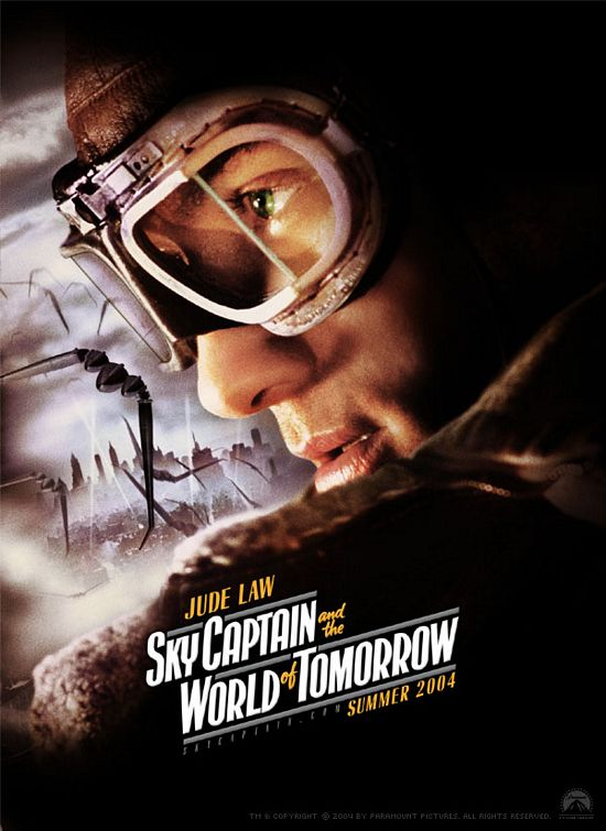 "poster for ""Sky Captain and The World of Tomorrow&quot"